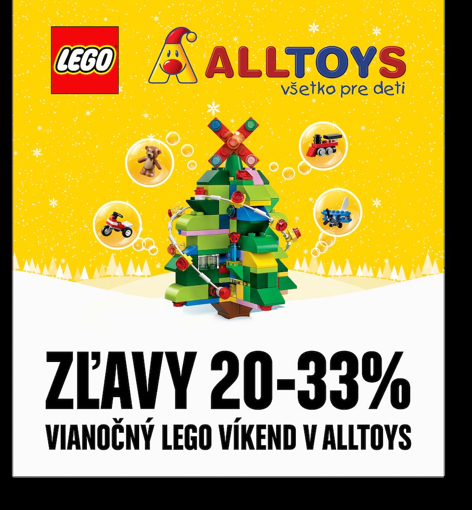 K Vianočným lego nákupom dostanete teraz aj malé prekvapenie. Akcia trvá od  piatku 30.11. do 2.12.2018. Viac info na www.alltoys.sk. 043ddf2b26c