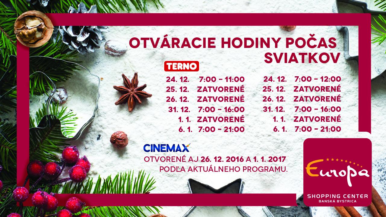 Vianočné otváracie hodiny(Aktuality) 9d41c835583