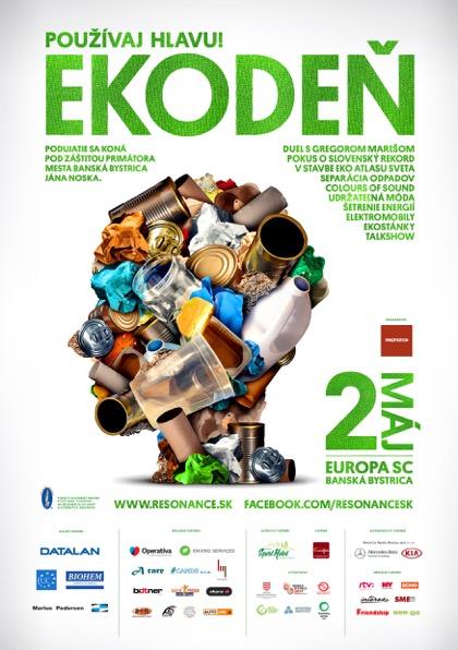d774e8268b Ekológia už dávno nie je nuda! 2. mája vás o tom presvedčíme v EUROPA SC v  Banskej Bystrici. Čaká na Vás zábava