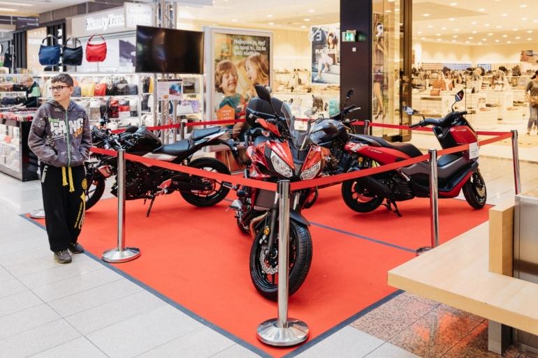 Výstava motoriek