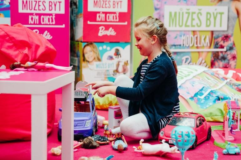 Výstava hračiek od Mattela